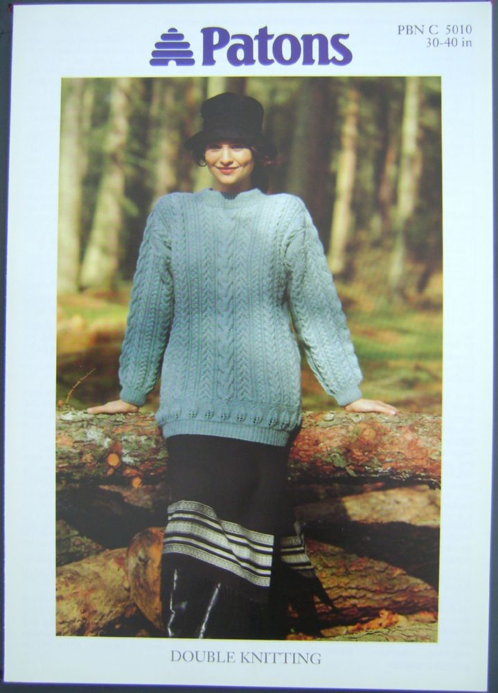 Patons Knitting Pattern 5010